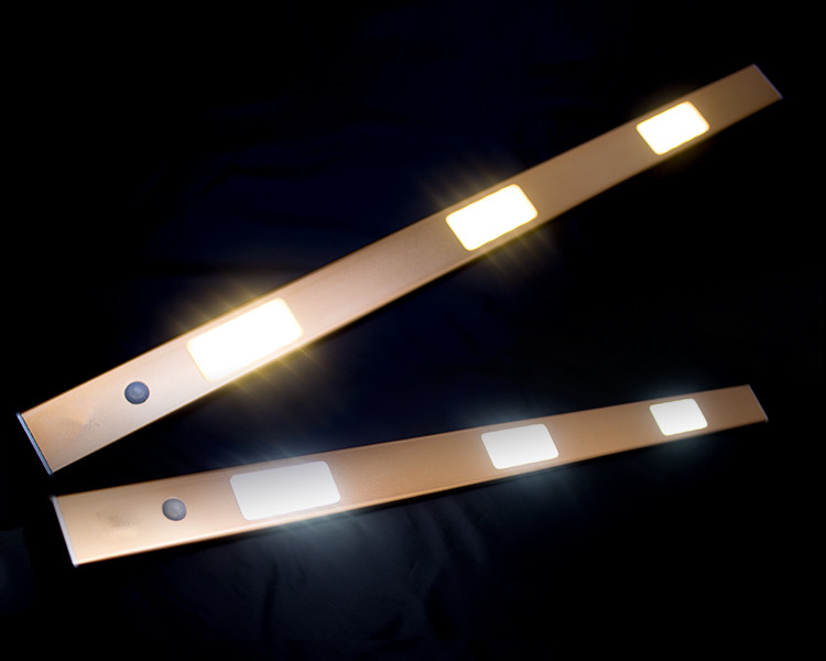 LED Cabinet Light Hand Wave Infrared Sensor Rigid Strip Kitchen Lights Bathroom lamp night lamps home