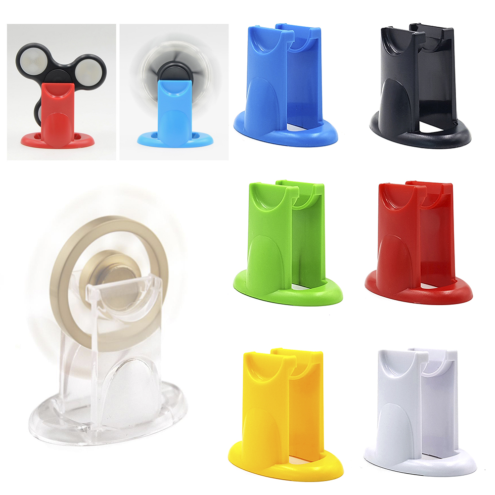 Fidget Spinner Holder New Design For Hand Spinner Antistress Toy Holder EDC Finger Spiner Mount Holder High Quality 7 Colors