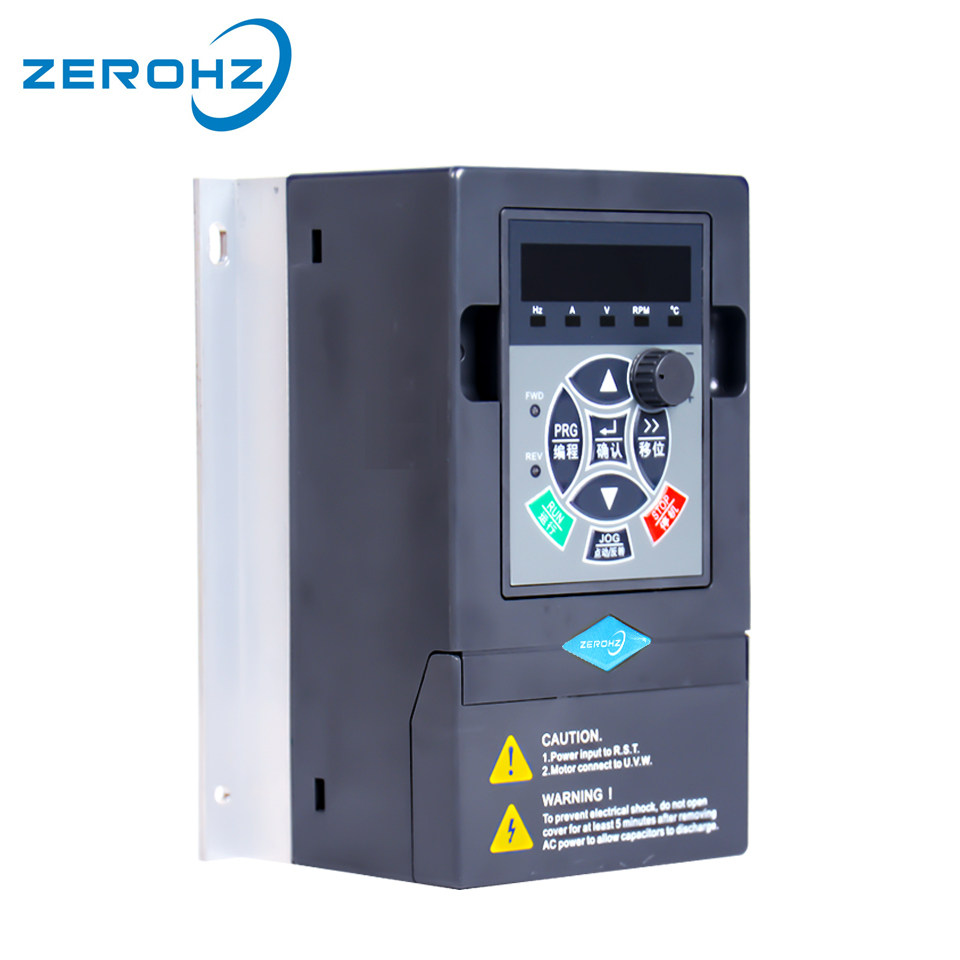 Frequency Inverter VFD 220V 0 75KW 1 5KW 1 Phase Input And Three Output 50hz 60hz
