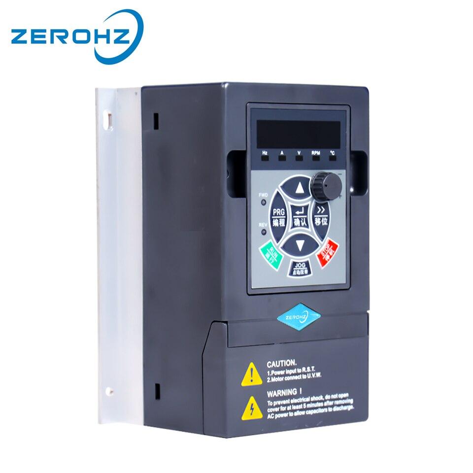 Inversor de freqüência VFD 220 V 0.75KW/1.5KW 1 50 Fase de Entrada E Três de Saída hz/60 hz AC drive Para Conversor de Freqüência Do Motor