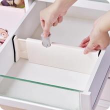Gaveta separador telescópica guarda roupa gaveta divisor placa do armário de madeira para laços meias sutiã lingerie organizador