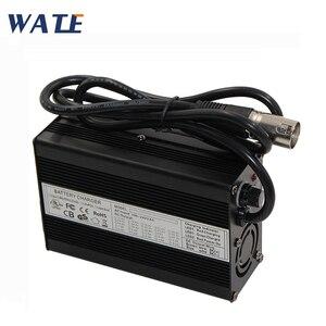 Зарядное устройство 42 в, 4 а, 10 с, 36 В, литий-ионный аккумулятор, выход 42 В постоянного тока с вентилятором охлаждения, бесплатная доставка