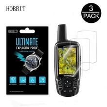 3Pack For Garmin GPSMAP 62 62s 62sc 63 63sc 63st 64 64st Worldwide Handheld GPS LCD Film Nano Explosion-proof Screen Protector