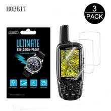3Pack Per Garmin GPSMAP 62 62s 62sc 63 63sc 63st 64 64st In Tutto Il Mondo GPS Portatile LCD Pellicola Nano A prova di esplosione Della Protezione Dello Schermo