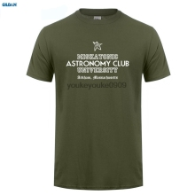 GILDAN  O Neck Miskatonic University Astronomy Club men t shirt Famous Leisure Men shirts
