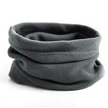 Флисовый шейный платок для езды на открытом воздухе, пуловер, гетры для шеи, многофункциональный зимний головной убор, теплая маска, шапка для мужчин и женщин