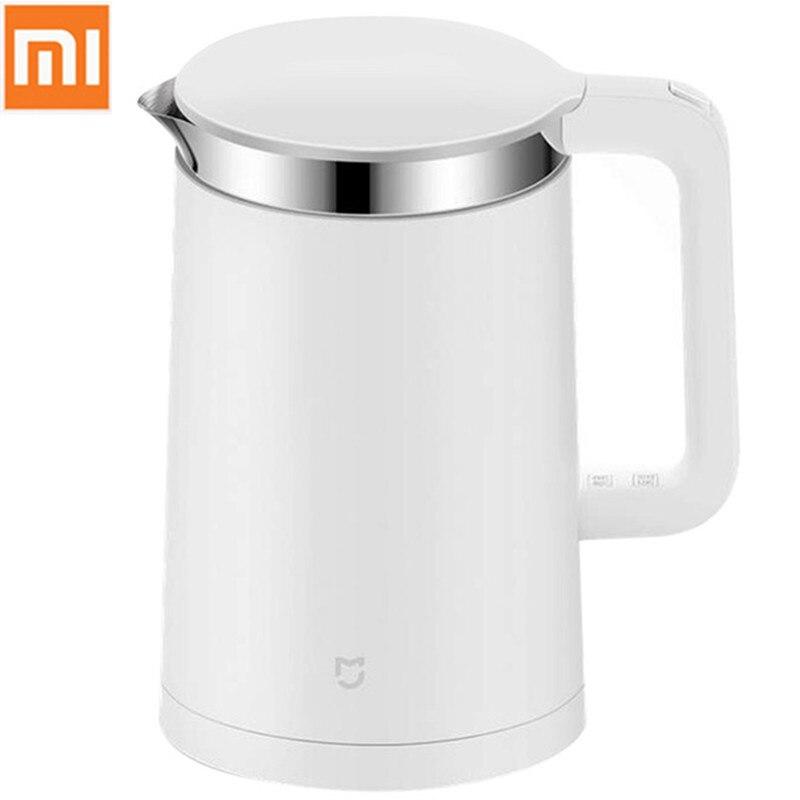 Оригинальный Xiaomi Mi Электрический чайник 1.5L защита от взлета из нержавеющей стали проводной Ручной мгновенный нагрев Электрический чайник