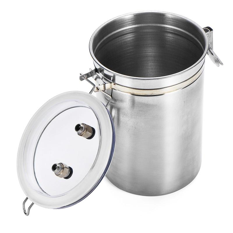 110-220V 2L Electric Ewe Milking Machine Vacuum Pump Milker Double Head US/EU/AU Plug For Farms Daily Home
