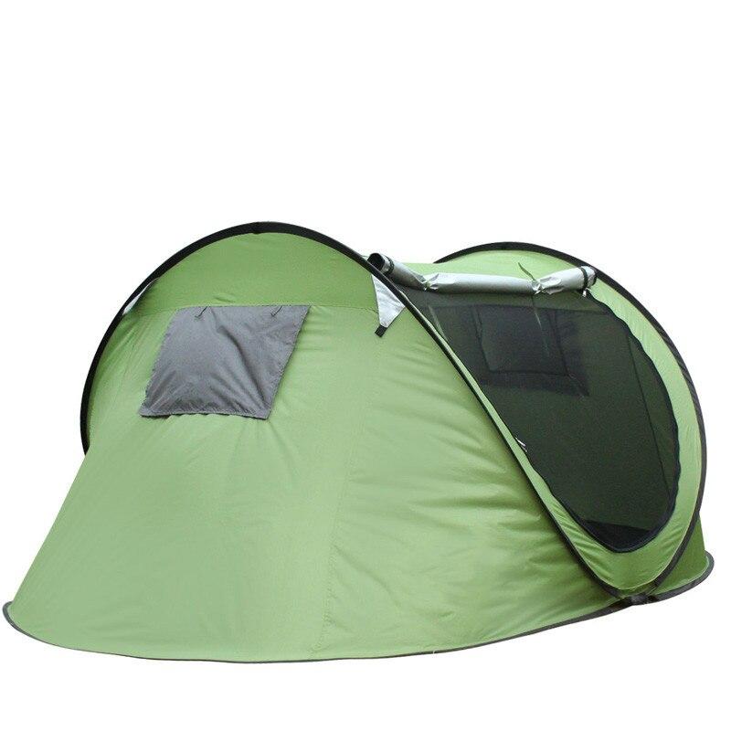 Tente de plage ultra-légère tente pliante Pop Up automatique tente ouverte famille touristique poisson Camping Anti-UV entièrement soleil ombre randonnée Gazebo