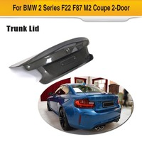 Carbon Fiber Rear Spoiler For BMW F22 F87 M2 Base Coupe M Sport 2Door 2014 2018 Trunk Boot Wing Lip