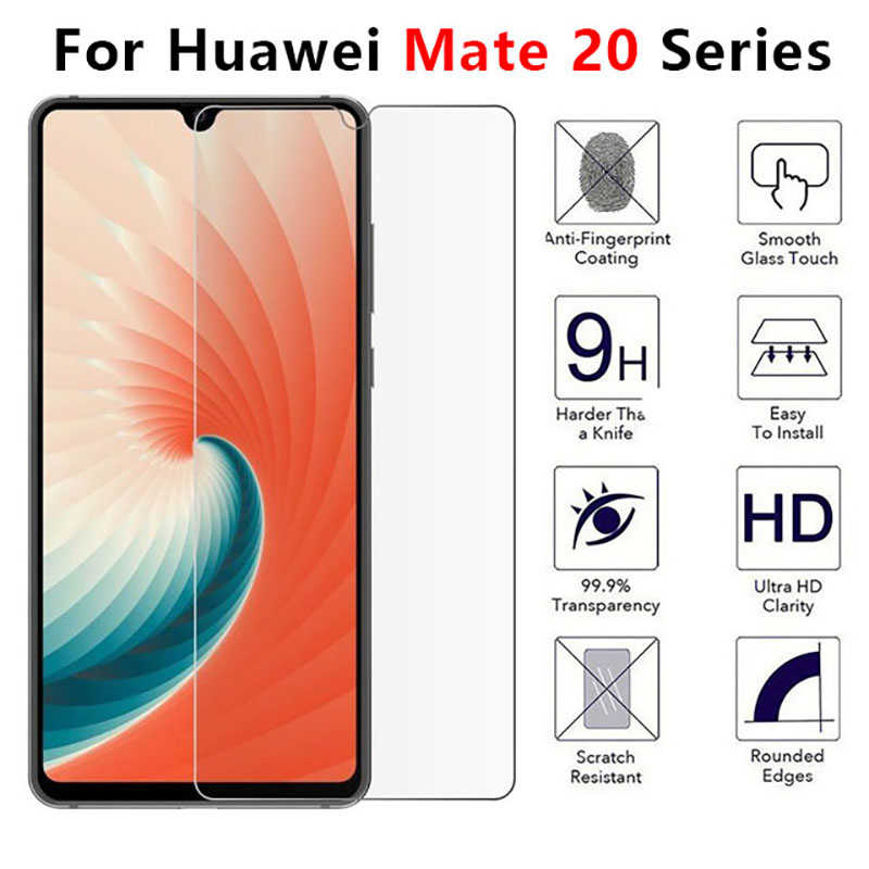Glass For Huawei Mate 20 Lite X pro Tempered Glas Screen Protector On Huawey Mate20 pro 20lite 20x Made Matte Protect Film 9h(China)
