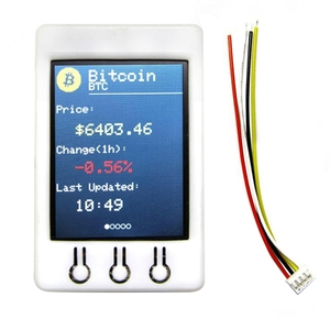 Image 3 - Ttgo t watcher Btc Ticker Esp32 2,2 pulgadas 320X240 Tft Módulo de pantalla apto para Arduino Bitcoin precio programa 4Mb Spi Flash más reciente