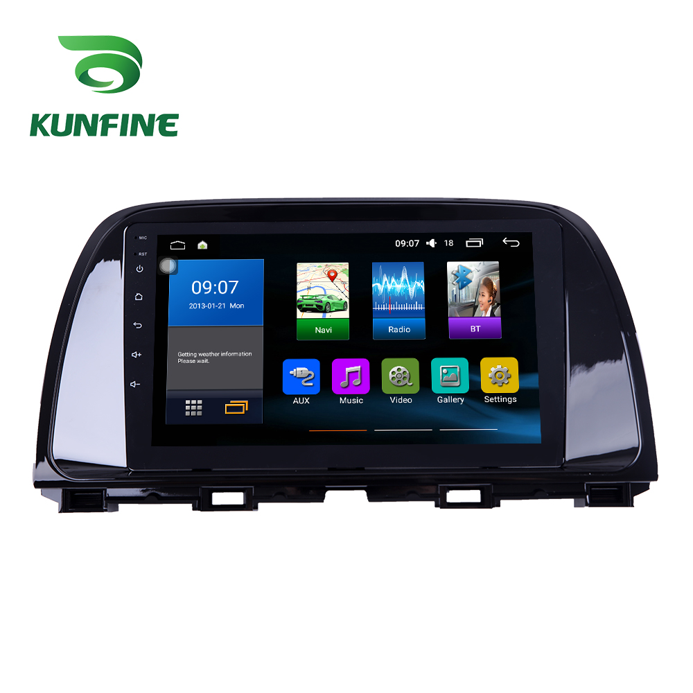 Octa Core 1024*600 Android 8.1 Car DVD <font><b>GPS</b></font> Navigation Player Deckless Car Stereo For <font><b>Mazda</b></font> ATENZA 2014-2016 Radio Headunit wifi image