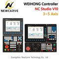 WEIHONG Nc Studio V10 Controller CNC Router 3-axis 4-axis 5-axis Linkage Integrated Control Card NK300CX-H/HM/V/VM NEWCARVE