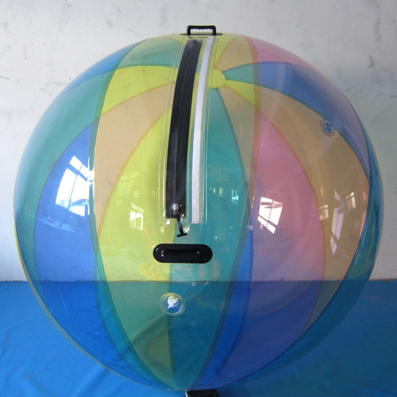 Free Shipping 2.5m Inflatable Human Hamster Ball TPU Water Balloon Water Walking Ball Water Zorb Ball For Dance Performance