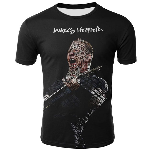 Metal Rock Band Metallica Men's T-Shirt
