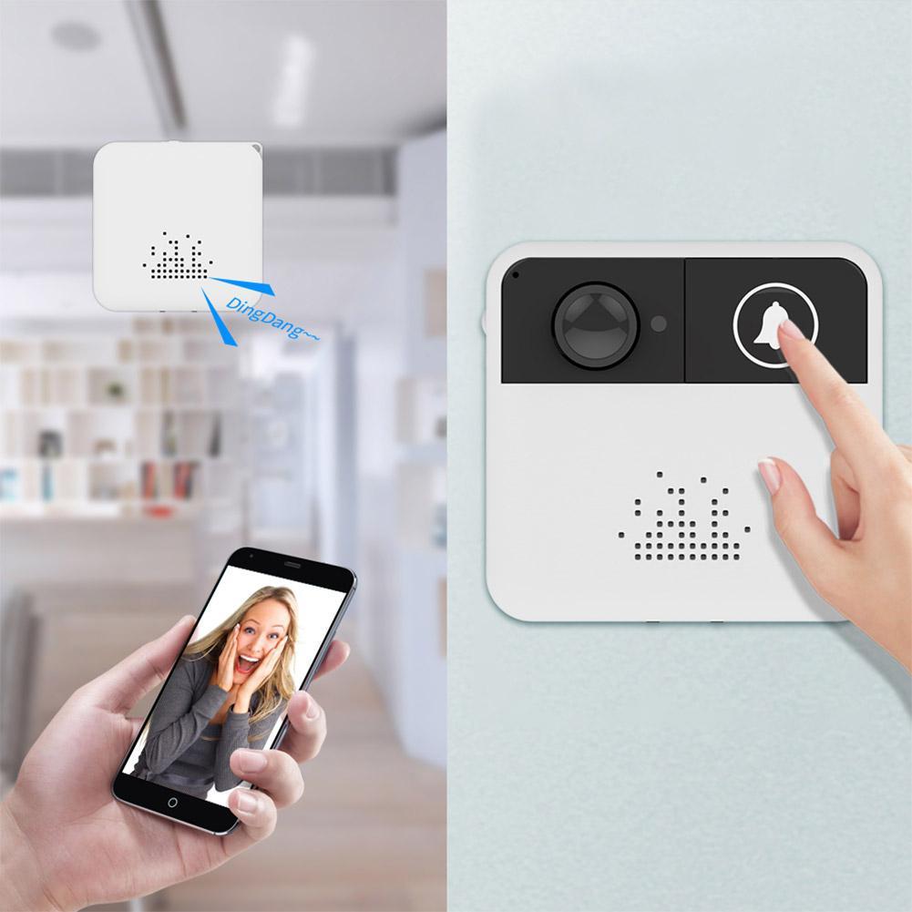 Hexagonal Wrench  IP Video Intercom WI-FI Video Door Bell Camera Apartments Alarm Wireless Security Camera R29