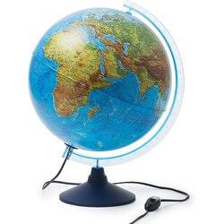Глобус Земли Globen физико-политический с подсветкой 320мм