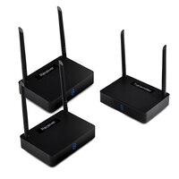 LEORY HD585 2 5,8G 350 M 1 передатчик 2 спутниковый ресивер HDMI беспроводной Аудио Видео ТВ Отправитель адаптер 1080 P HD для ПК ТВ dvd проектор