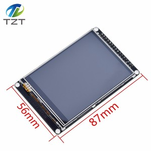 Image 2 - TZT 3.2 inch LCD TFT with resistance touch screen ILI9341  for  STM32F407VET6 development board Black