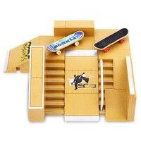 5pcs Skate Park Kit Ramp Parts For Tech Deck Fingerboard Toy Excellent Extreme Sports Enthusiasts Suitable Sport Training Toys