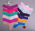 lady Lowest price New multi-color Sexy cozy comfortable Lace Briefs thongs women Underwear Lingerie for women 1pcs ac128