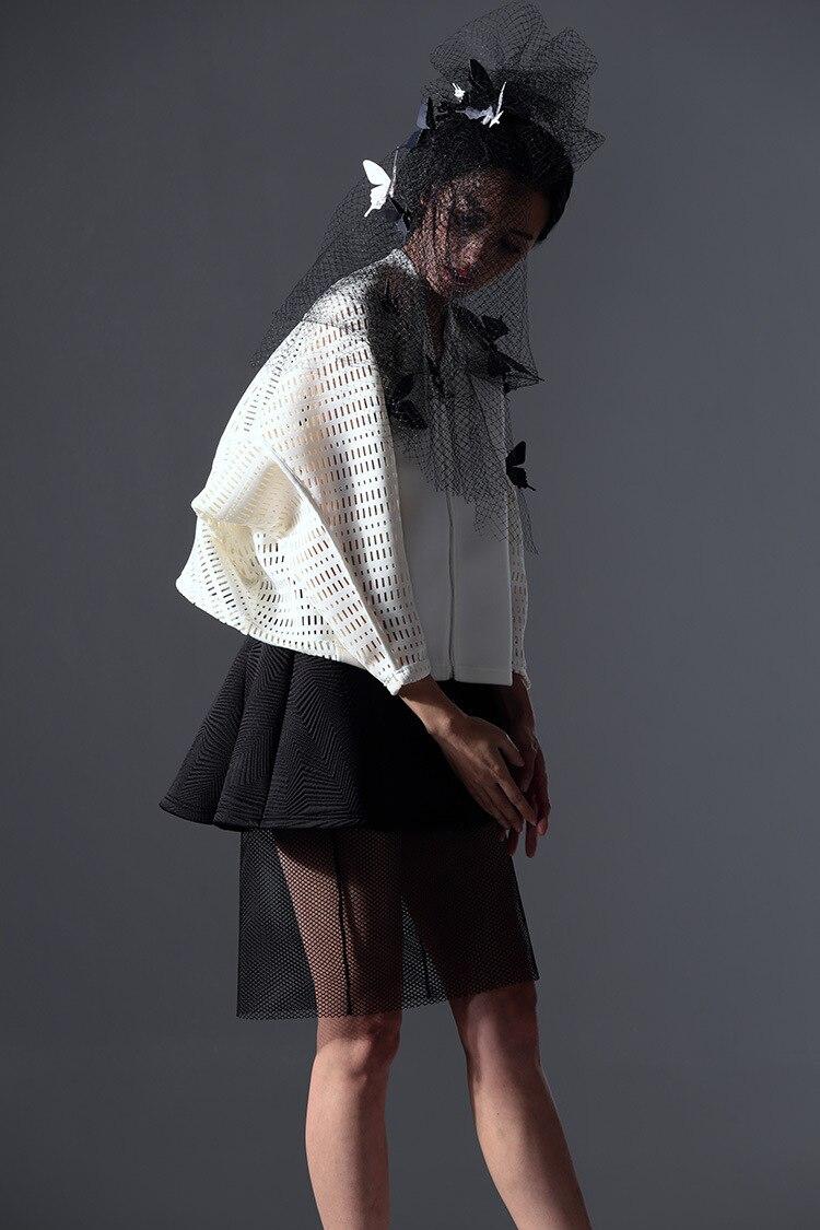De Couche Demi Taille eam Femmes Stitcing Lâche Black Mode Jupe Personnaliser New Ourlet Jh410 Haute corps Marée Printemps 2019 Maille xPqvgwPIZ