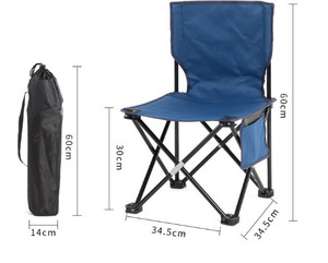 Image 4 - Creative Simple Outdoor Portable Folding Chair Outdoor Camping Beach Chair Fashion Personality Fishing Sketch Chair