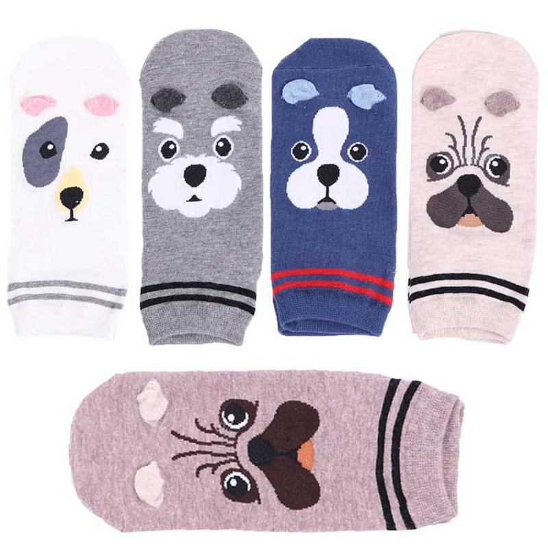 ✔  15 стилей женские хлопчатобумажные носки мультфильм прямые женские носки животных живые и симпатичны ★