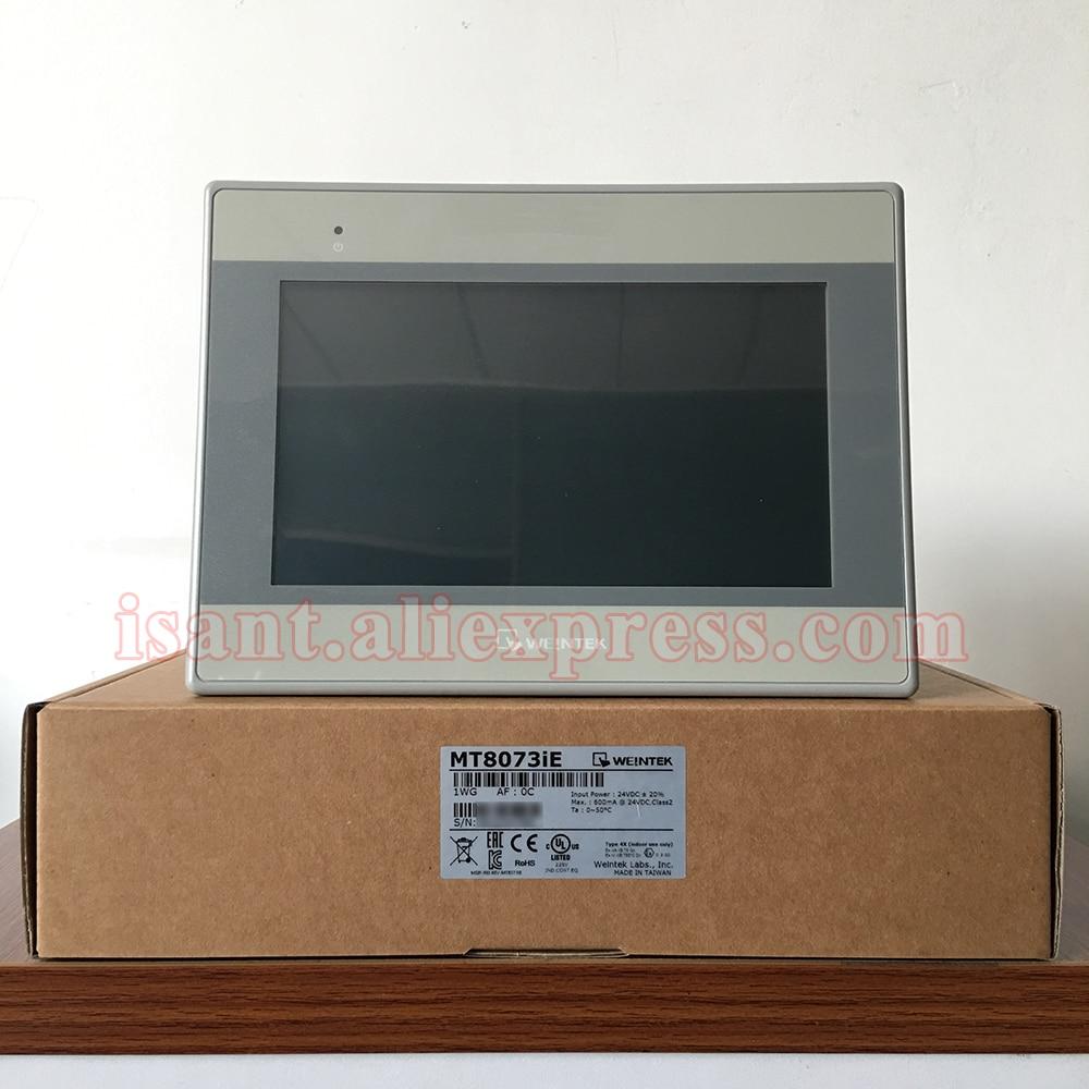 MT8073iE Weintek HMI Built in EasyAccess2 0 License Dual Ethernet Ports New and Original