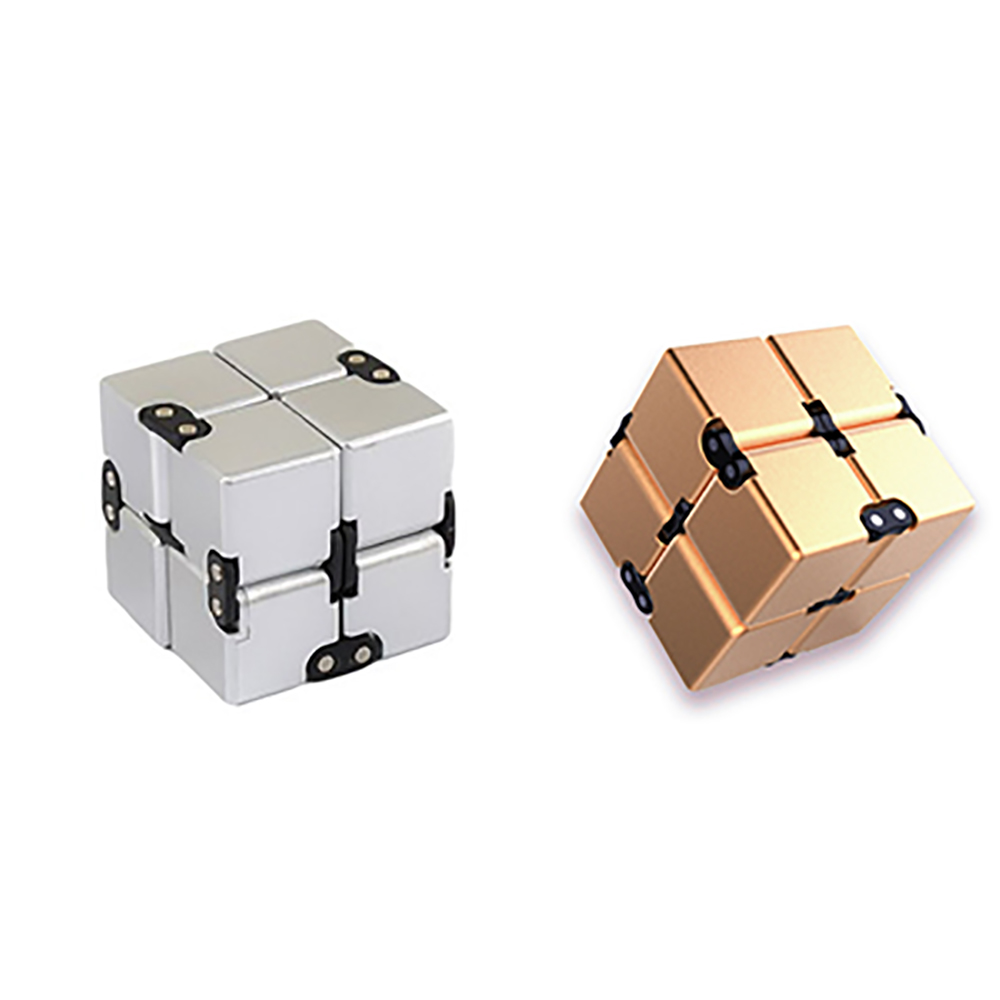 Hot Plastic Infinity Cube Toy Deformation Magical Infinite Cube Toys Stress Reliever For Anxiety