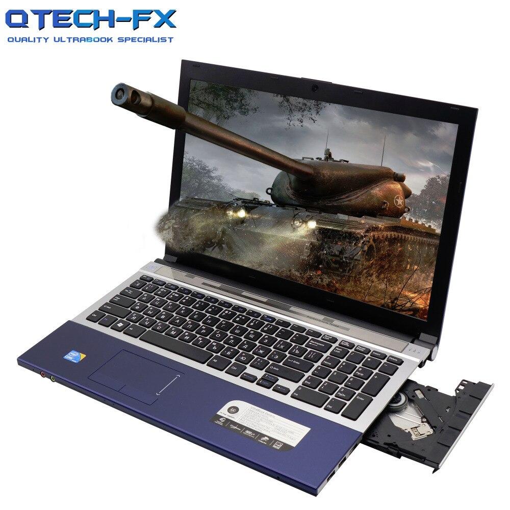 Игровой ноутбук i7 8 Гб RAM SSD 512 256 128 15,6 Windows10 большой DVD металла i5 арабский Azerty пособия по немецкому языку Испанский Русский клав