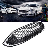 For 2017 2018 for Ford Fusions Front Bumper Racing Grills ABS Upgrade Appearance Provide Additional Protection Easy to Install