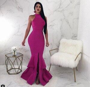 Женское вечернее платье, сексуальное длинное Клубное платье, элегантное вечернее платье, шифоновое платье для вечеринки, весна-зима 2019