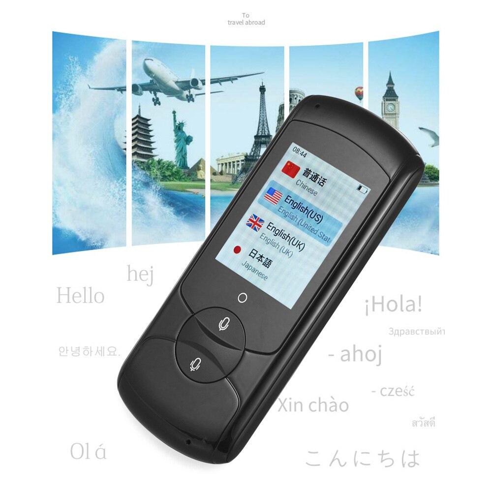 """4G 32G traducteur de voix intelligent 2.4G WiFi traducteur instantané interprète 41 langues Portable traducteur de langue 2.0 """"écran tactile-in Traducteur from Electronique    1"""