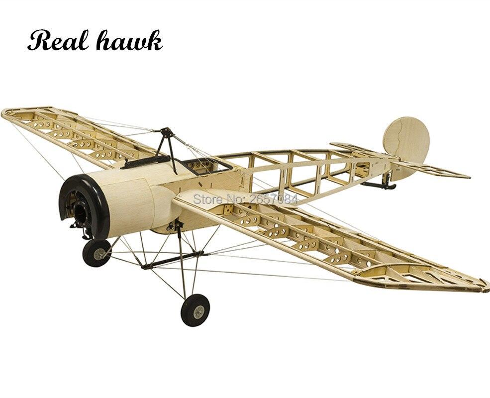 RC Airplanes Model Laser Cut Scale 1200mm Fokker E.III Eindecker WW1 Fighter Balsa wood Building Kit Woodiness model WOOD PLANE