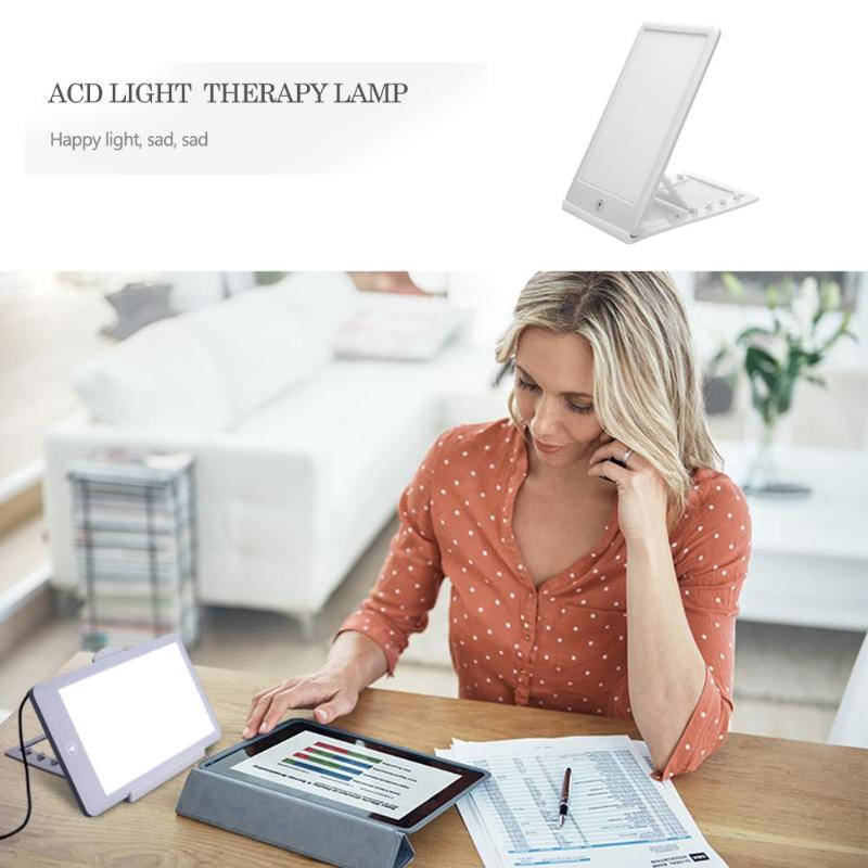 Image 2 - 12V Therapy Light 3 Modes Seasonal Affective Disorder Phototherapy 6500K Simulating Natural Daylight Therapy Lamp for Home-in LED Night Lights from Lights & Lighting