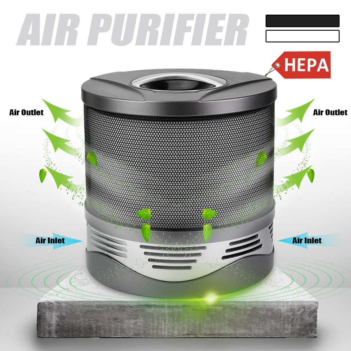 New Household Air Purifier Negative Lonizer Cleaner Sterilizer HEPA Filter Dust PM2.5 Odor Quiet Home Office Remove Smoke DustNew Household Air Purifier Negative Lonizer Cleaner Sterilizer HEPA Filter Dust PM2.5 Odor Quiet Home Office Remove Smoke Dust