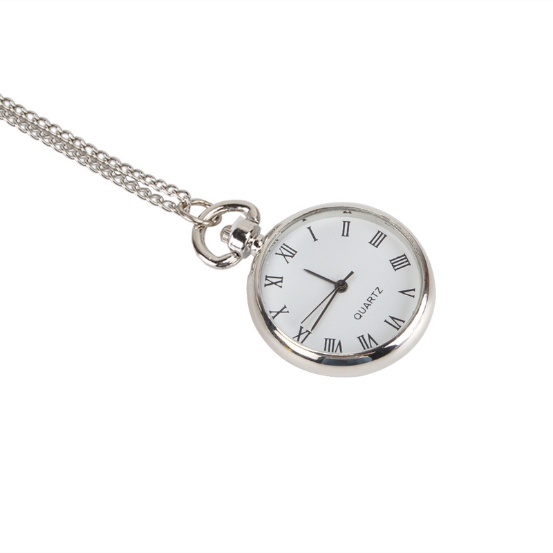 High Quality Bronze Necklace Chain Pocket Watch for Men