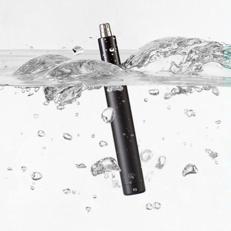Xiaomi Mini электробритва для удаления волос в носу триммер HN1 острое лезвие для мытья тела портативный минималистичный дизайн водонепроницаемый сейф для семейного ежедневного использования