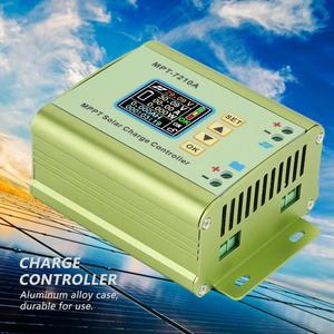 MPT-7210A Aluminum Alloy LCD MPPT Solar Panel Charge Controller for Battery Solar Charge Controller(China)