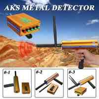 Outdoor AKS 3D Haltegriff Antenne Metall Detektor Locator Scanner Gold Mineral Erfassen Maschine 14/25 Meter Deepth Detektor