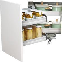 For Keuken Organizer Para Organizar Dish Cucina Cestas Corredera Stainless Steel Cuisine Rack Cozinha Kitchen Cabinet Basket