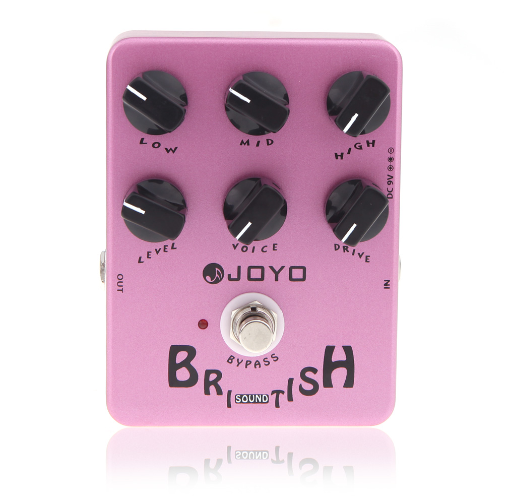 JOYO JF 16 British Sound Amp Sim Guitar Effect Pedal