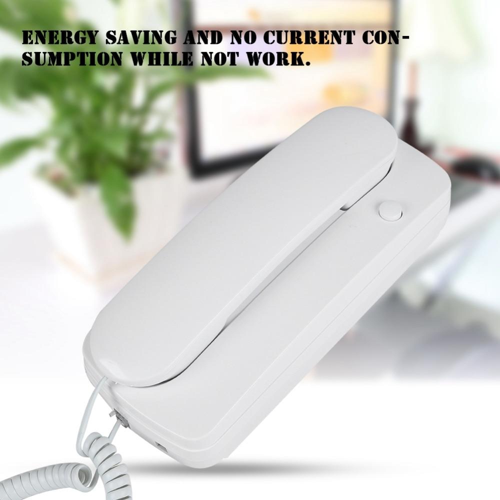 Modestil Wired Ac Dc Zwei Weg Intercom Türsprechanlage Audio Villa Hause Büro Nicht Visuelle Sprech Heißer Verkauf Türsprechstelle