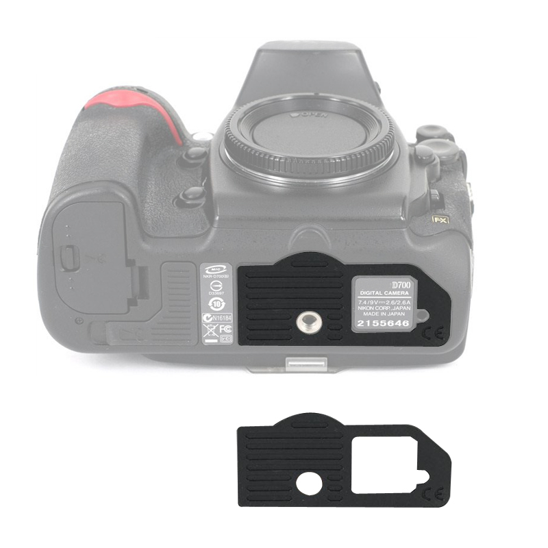 1-10pcs For <font><b>Nikon</b></font> D300 D300S <font><b>D700</b></font> Bottom ornament Back cover <font><b>Rubber</b></font> DSLR Camera Replacement Unit Repair Part image