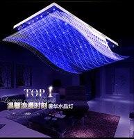 Новые парусные потолочные светильники светодиодные лампы высокой мощности светодиодные потолочные лампы гостиная лампа Led Lustre Light потолоч