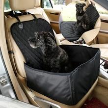 Black Nylon Waterproof Travel 2 in 1 Carrier For Dog Folding