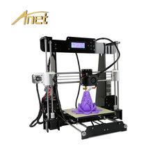Anet A8 Industrial 3d Printer Auto Level Desktop 3D Printer Prusa I3 DIY 3D Printer Kit 220*220*240MM Printing Size Home Used wanhao d5s mini desktop 3d printer with high performance and accuracy industrial level with printing size 290 190 190mm
