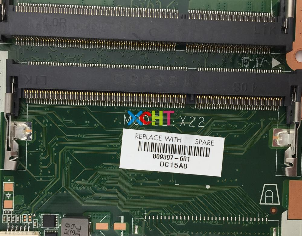 809397 601 809397 501 809397 001 W A4 6210 CPU DA0X22MB6D0 For HP Pavilion Notebook 17 G Series PC Motherboard Tested